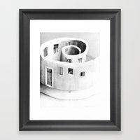 Windows Of Perception Framed Art Print