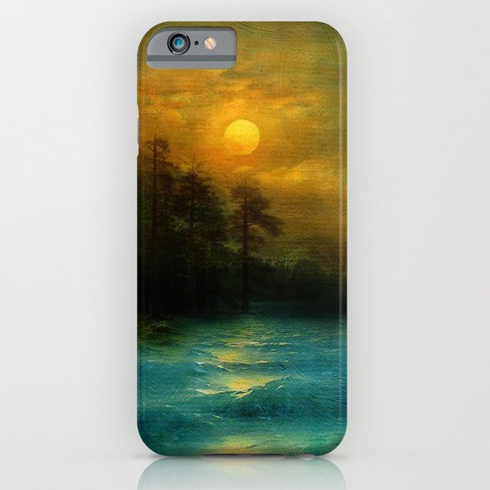 Hope, in the turquoise water. iPhone & iPod Case