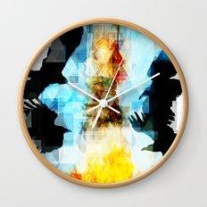 Twelve Crows Wall Clock
