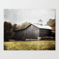 The Grey Barn Canvas Print