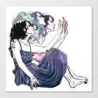 Distort Canvas Print