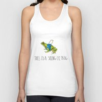 Seeing Eye Frog Unisex Tank Top
