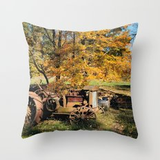 Here I'll stay Throw Pillow