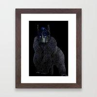 Optimus Primate Framed Art Print
