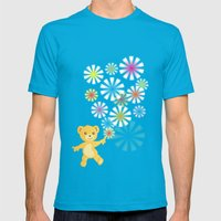 Golden Bear Mens Fitted Tee Teal SMALL
