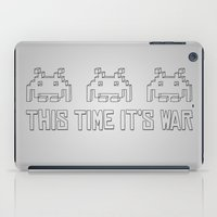 This Time It's War iPad Case