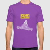 Kart Vader Mens Fitted Tee Ultraviolet SMALL