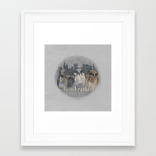 GoodFeathas Framed Art Print