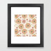 Flower Of Life Framed Art Print