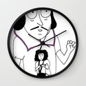 Shakespeare Punx Wall Clock