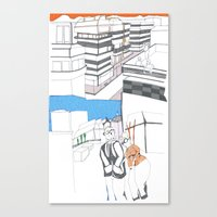 santiago2 Canvas Print