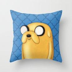 Jake Adventure Time Throw Pillow