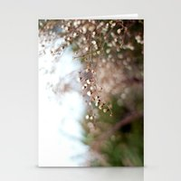 Winter Aster II Stationery Cards