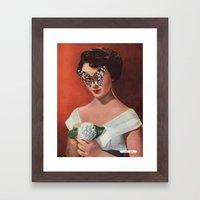 ELIZABETH TAYLOR.  (PIN-UPS). Framed Art Print