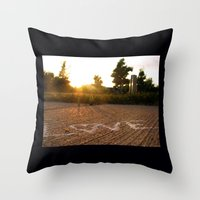Love Under the Sun Throw Pillow