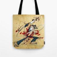 Ninja Assassin Tote Bag
