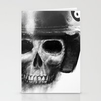death racer Stationery Cards
