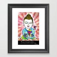 Buddha's Delight Framed Art Print