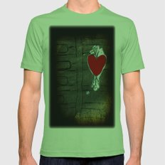 Love Malfunction Mens Fitted Tee Grass SMALL