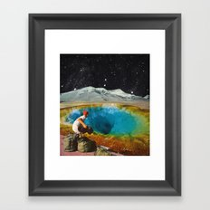 CLEAR HISTORY Framed Art Print