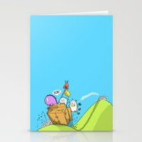 Life Is Like A Mountain … Stationery Cards