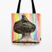 Tree Head Tote Bag