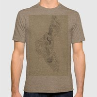 The Fertile Land In One'… Mens Fitted Tee Tri-Coffee SMALL