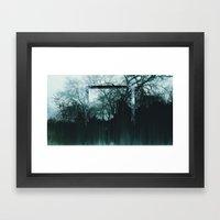 Tree Lines Framed Art Print
