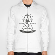 Dollar Slice WHITE Hoody