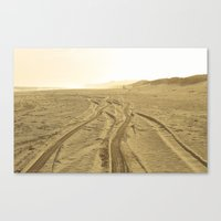 Montauk Beach Canvas Print