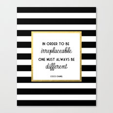Coco Gold Irreplaceable … Canvas Print