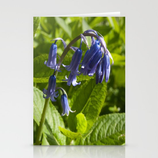 Bluebell Stationery Card