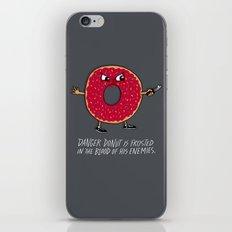Danger Donut iPhone & iPod Skin