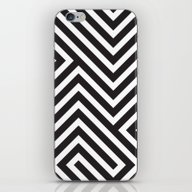 iPhone & iPod Skin featuring Lines by Dizzy Moments