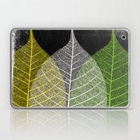 'Natural Dry Leaves' Laptop & iPad Skin
