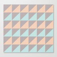 Triangles. Canvas Print