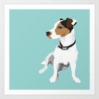 Dog - Jack Russell Art Print