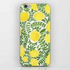 The Fresh Lemon iPhone & iPod Skin