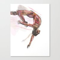 The Olympic Games, London 2012 Canvas Print