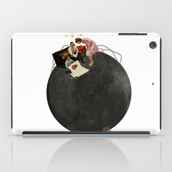 Life on Earth  | Collage | White iPad Case
