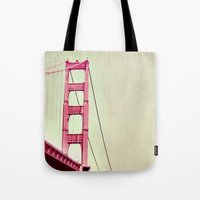 The Tip of the Bridge Tote Bag