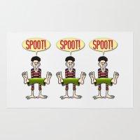 SPOOT! Rug