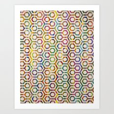 The Hex Art Print