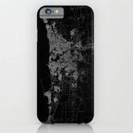 Perth Map Australia iPhone 6 Slim Case