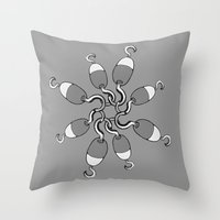 Choking Hazard Throw Pillow