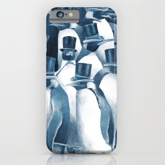 A Gathering of Gentlemen (square format) iPhone & iPod Case