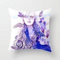 Nausicaa Throw Pillow
