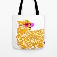 Cheetah With Sunglasses … Tote Bag