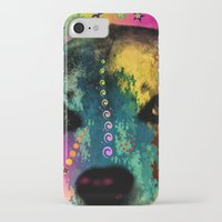 dogs iPhone & iPod Cases featuring  dogs by mark ashkenazi