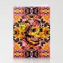 Skull V Stationery Cards